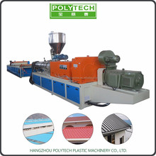 PVC Roofing sheet tile production machine plastic extruder machine line