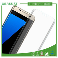 3D full cover curved 0.26mm thickbess tempered glass screen guard for smasung galaxy s7 edge protector
