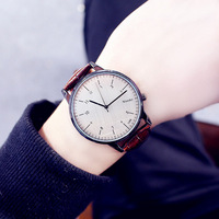 Vintage couple Watch / Leather Watch / Ladies Watch Birthday Wedding Gift Ideas watch Accessory