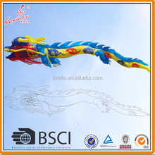 Giant flying inflatable dragon kite from chinese kite factory