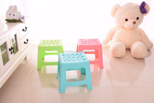 customized and portable plastic garden stool