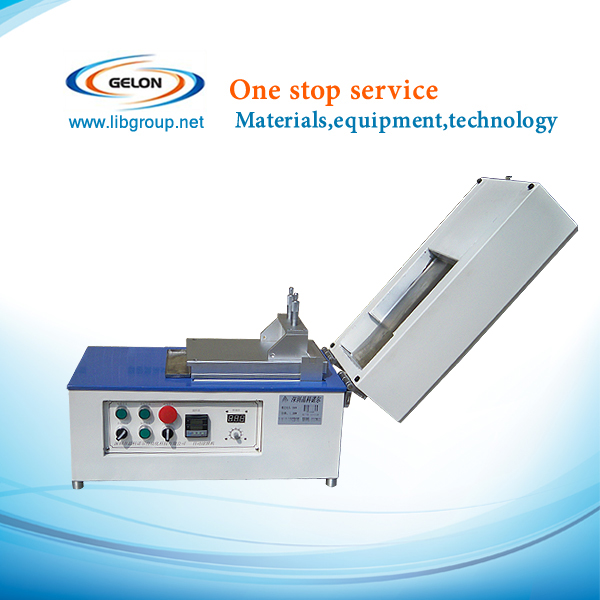 lithium battery vacuum coating machine With Cover Heater,Vacuum pump&Micrometer film applicator battery lab equipments