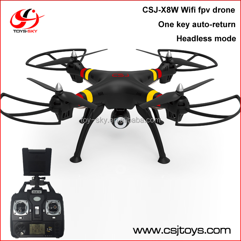 CSJ-X8W 2.0MP camera WiFi RC Quadcopter with HD Camera CF mode