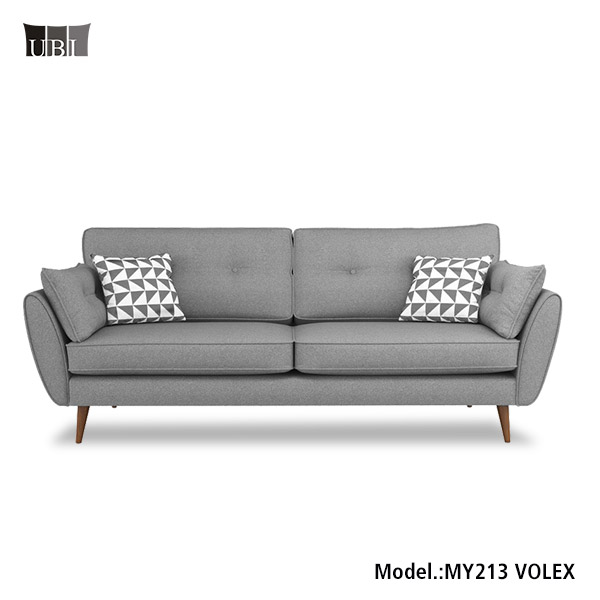 Midcentry modern vintage design fabric 3 seater <strong>sofa</strong> ,fabric <strong>sofa</strong> sets designs for living room furniture