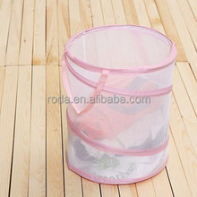 Chinese Supplier Folding Plastic Laundry Hamper