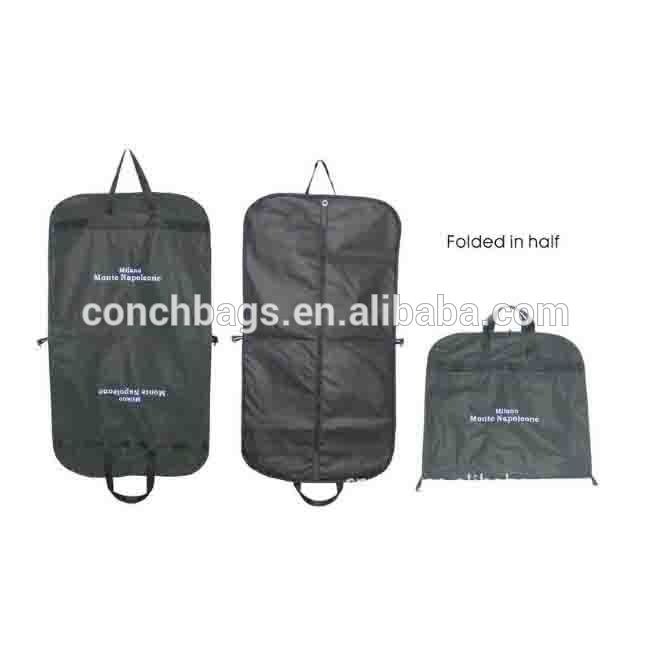 Fancy Salesman Part Man Peva Suit Cover Plastic Ziplock Carry Nylon Laundry Garment Bag With Wheel