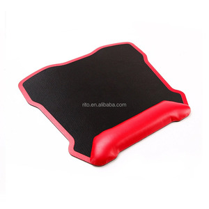 Ergonomic Office Mouse Pad Mat Leather Mousepad with Rest Wrist Support for women