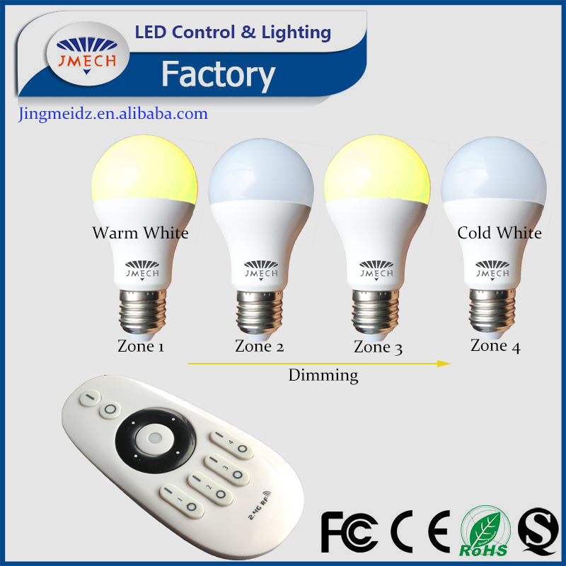 2016 Slim style LED bulb ultra thin E27 lighting light smart A19 with remote ccontrol