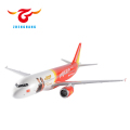 ABS resin Airbus A320 airplane model Vietjet airlines model plane with stand