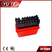 YUTE 27PCS 5MM letter stamping punch& letter paper punch