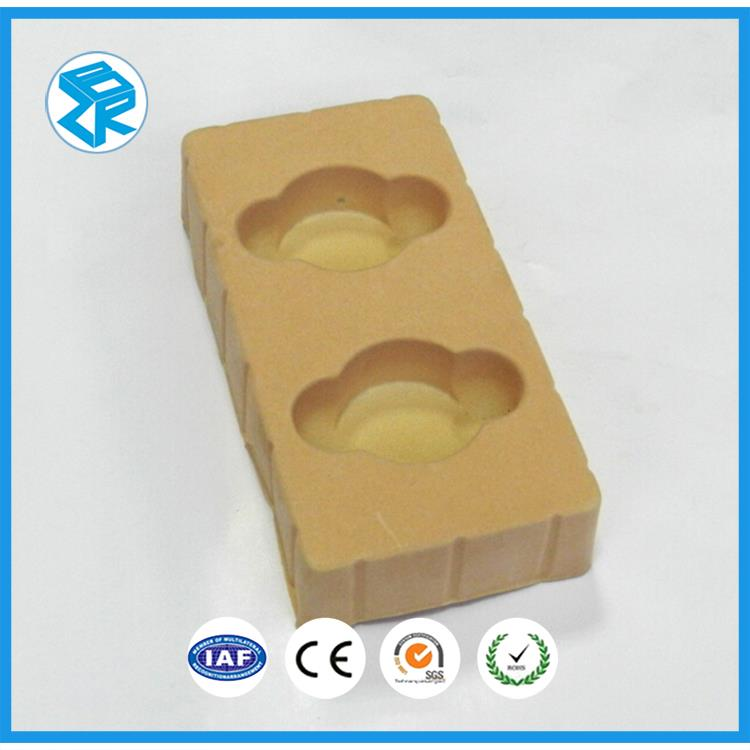 Wholesale Thermoformed Pvc Vacuum Thermoform Flocking Products Promotional Flocked Blister Packaging Tray