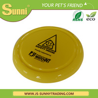 "Pet Product 9"" Plastic Frisbee Red Toy For Dogs With Different Designs For Sale"