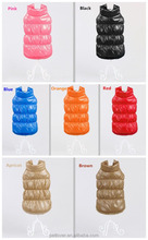 2016 hot wholesale winter dog down jacket