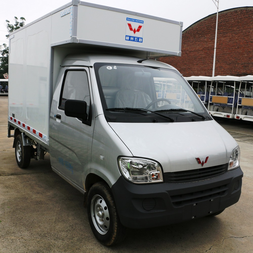 cheap single-cab cargo double-layer cotainer china mini van truck