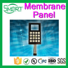 Smart Bes 4 key membrane switch keboard and membrane operator keyboard