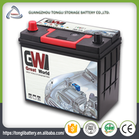 All brands of car batteries maintenance free battery 12v 40ah high performance