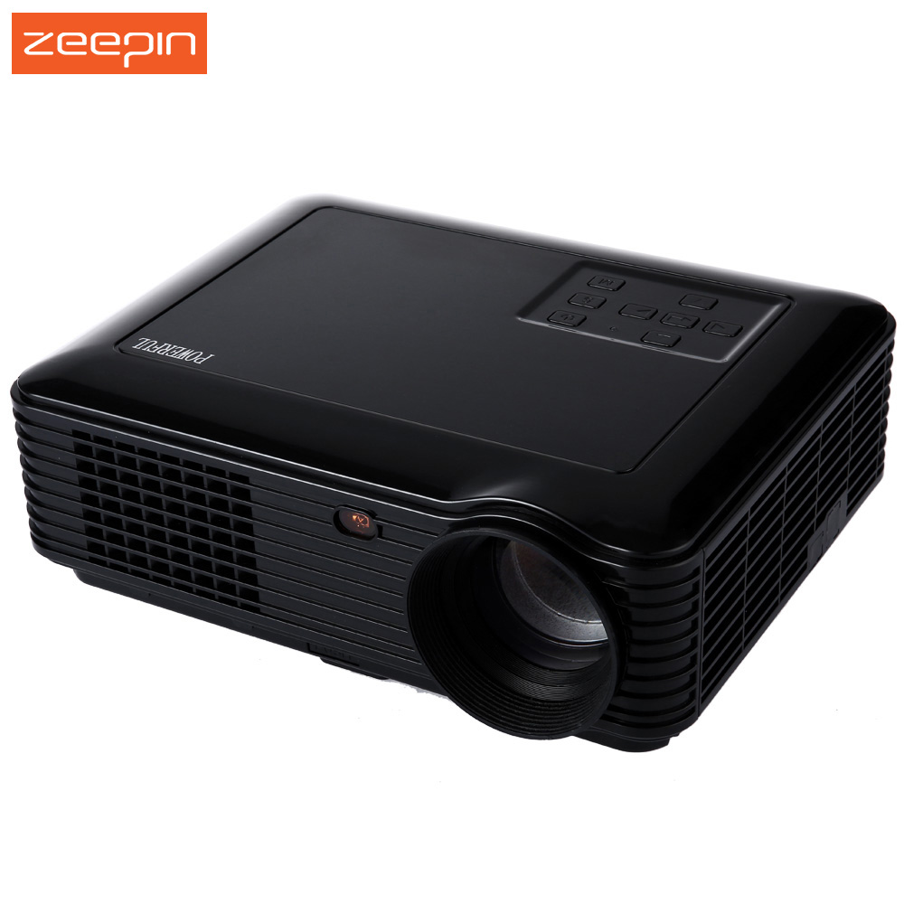 New Wireless Powerful projector SV - 228 Home Theater 3500 Lumens 1280*800 Pixels 160W Power Multimedia LCD Digital Black White