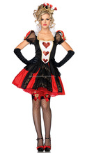 Sexy cosplay Costumes cheap Fairy Tales costumes Sexy Wonderland Queen carnival Costume