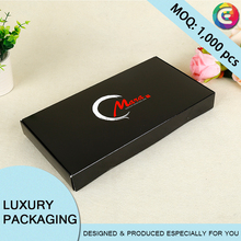 High quality full color printed paper poker card splaying card box