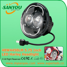 On sale 5.75 Inch 78W 4450LM 6000K Motorcycle LED headlight with hi/lo beam