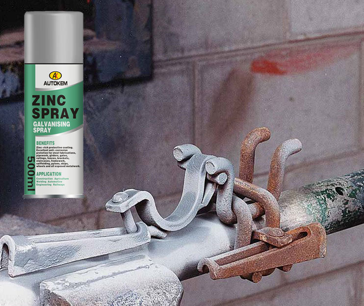 zinc coating spray cold galvanizing zinc spray cold. Black Bedroom Furniture Sets. Home Design Ideas