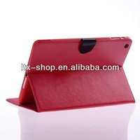 Tablet Custom Folding Smart Leather Case For iPad5 Diamond pattern