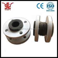 China Factory DIN Flexible Bellow Rubber Expansion Joint with Flat Flange