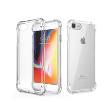 Custom TPU Case For Iphone 7 Unique Clear Waterproof Cell Phone Case For Iphone 7 Case TPU