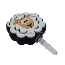 Custom dust plug, Cartoon PVC anti dust plug,OEM making phone dust plug