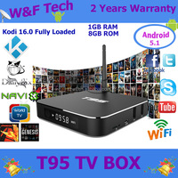 Promotional hardware decode T95 tv box quad core egypt channel tv box receiver