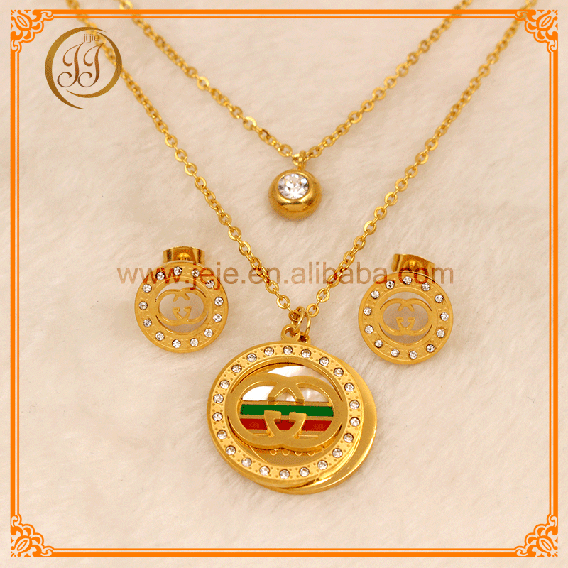Brand New Fashion 18K Gold Plated Dubai Gold <strong>Jewelry</strong> Wholesale For Men And Wemon And Gifts