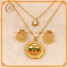 Brand New Fashion 18K Gold Plated Dubai Gold Jewelry Wholesale For Men And Wemon And Gifts