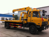 Excellent quality professional medium wrecker truck sale
