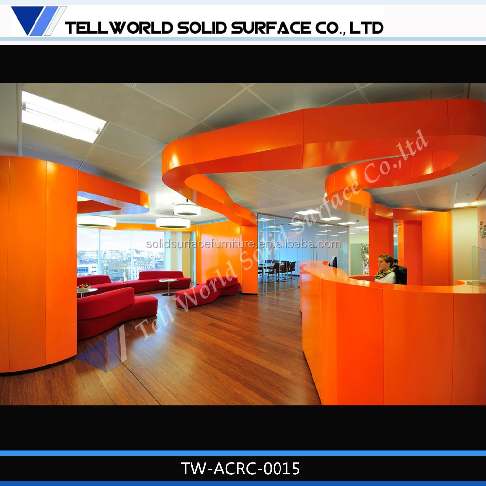 tw latest design supermarket customer service counter