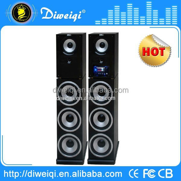 2.0 dj bass big speaker With USB SD FM RC LED DISPLAY