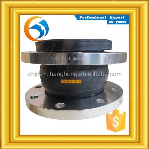 Certification3 DN80 rubber bellow expansion joint with flange