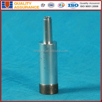 sintered thin wall diamond core drill bit for glass drilling