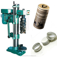 manual ropp capper bottles machine/bottle cap sealer