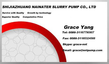 Acid proof mining slurry pump rubber liner parts