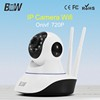 Plug and Play Monitoring System Night Visibility Security Camera 1.0 Megapixel IP PTZ Camera with Long Time Recording