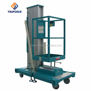 Safety aerial working lift table mobile hydraulic man lift for painting