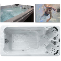 perfect feel spa pool,swim spa massage jet swimming pool for exercise and spa