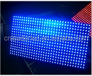Full Color Tube Chip Color and ph 10mm pixels Outdoor Usage small double sides led displays