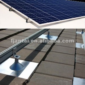 Shingled Asphalt Mounting Rack Off Grid Solar Panel