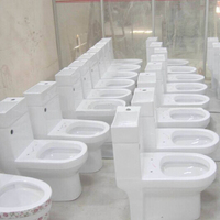 China factory directly new arrival ceramic wash basin water closet #8604 with basin