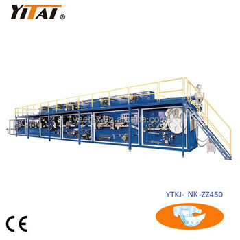 High speed new condition Baby Diaper Making Machine