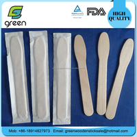 125mm ice cream spoon ice cream scoop individual paper wrapped