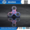 High speed bearing ball finger spinner Fidget 608 hand spinner toys camouflage fidget spinner