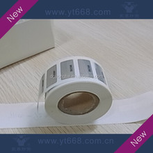 High quality roll hologram sticker for label machine