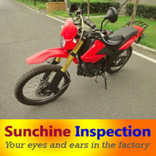 Motorcycle machine Quality control products inspection in Guangdong
